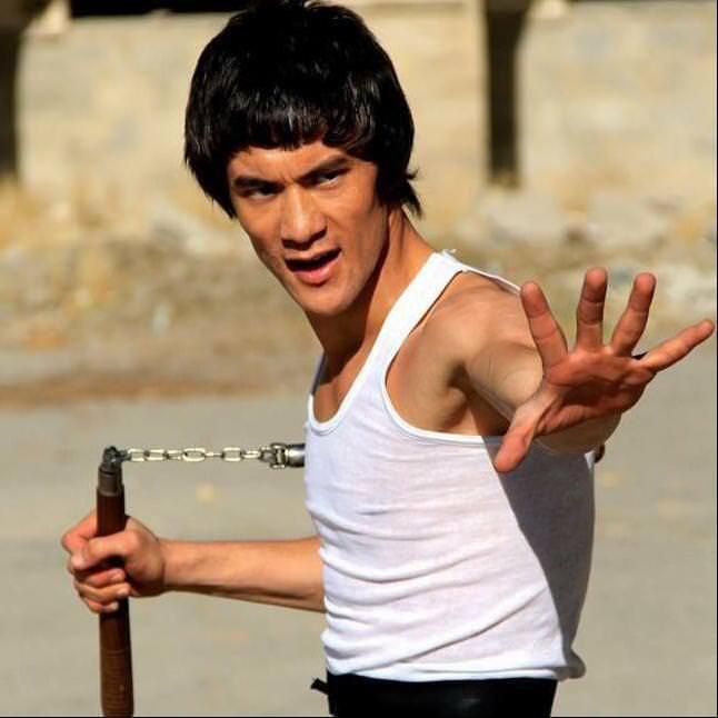 Afgan Bruce Lee fenomen oldu
