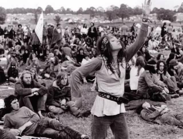 Bir zamanlar hippi modası
