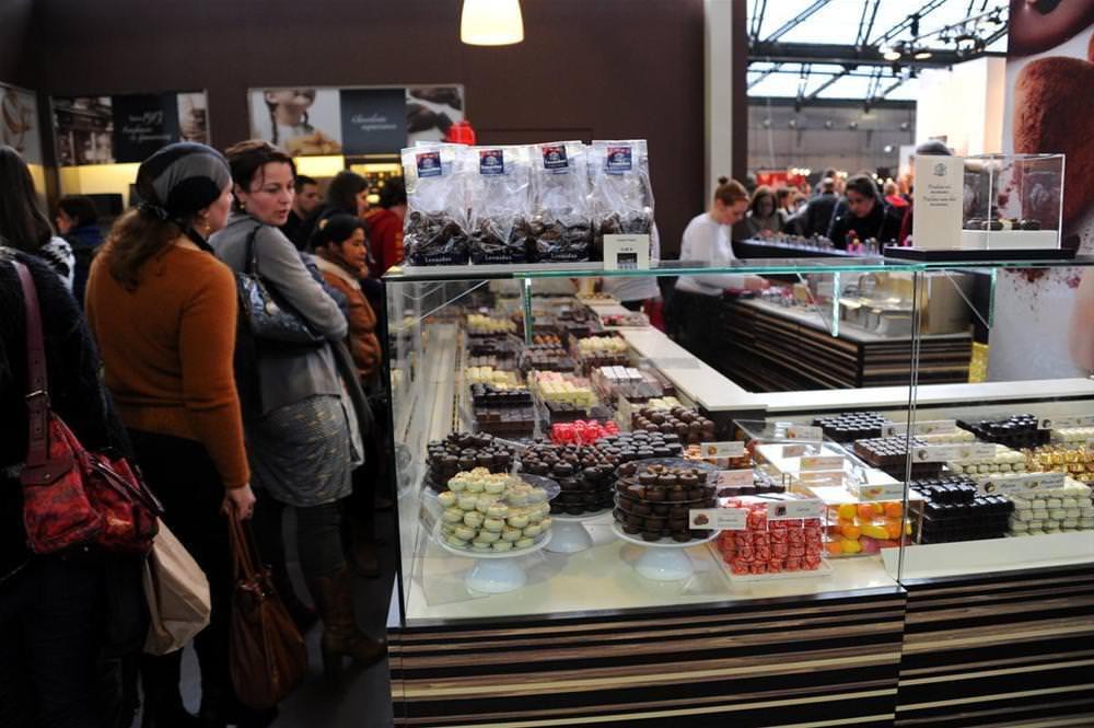 Brüksel çikolata fuarı