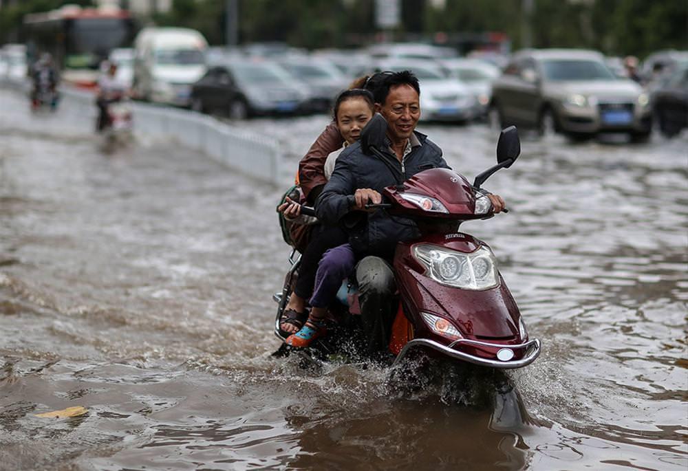 Çin'deki yağışlar 34 can aldı