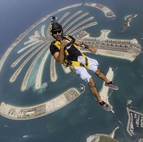 Dubai prensi nin çılgın fotoğrafları