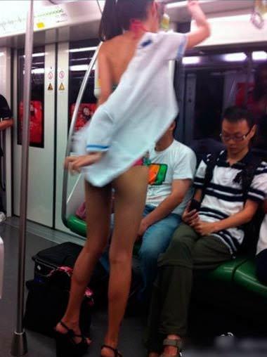 Dünya metrolarından komik görüntüler