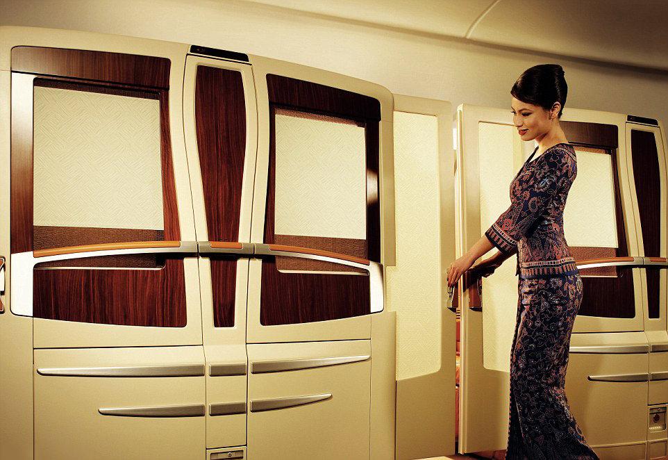 En lüks yolcu uçakları