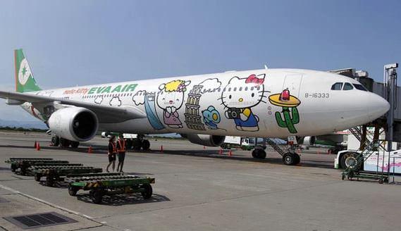 En renkli uçaklar