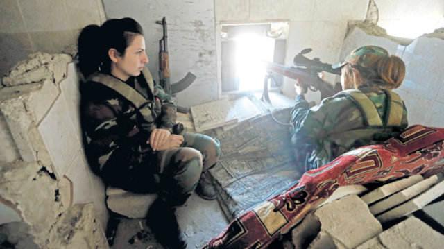 """Esad'ın """"Dişi ölüm makinaları!"""""""