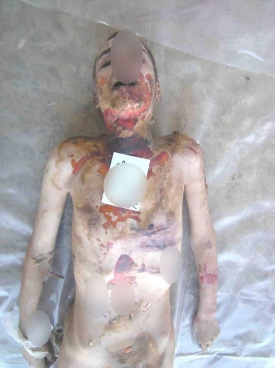 Esed'in insanlık suçunu belgeleyen yeni fotoğraflar