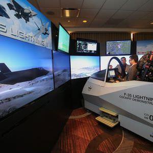 F35 Müşterek Taarruz Uçağı görücüye çıktı