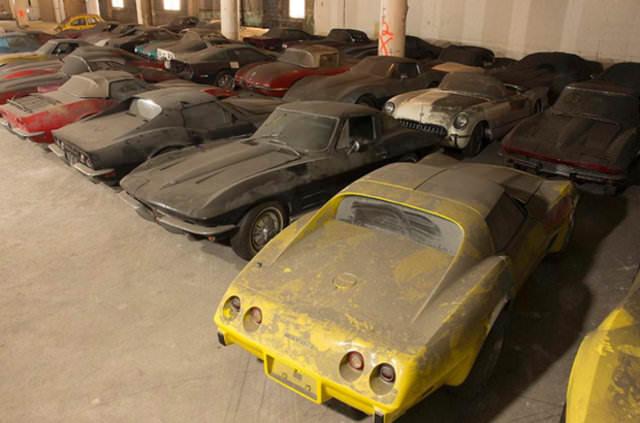 Garajda çürümeye terkedildiler!
