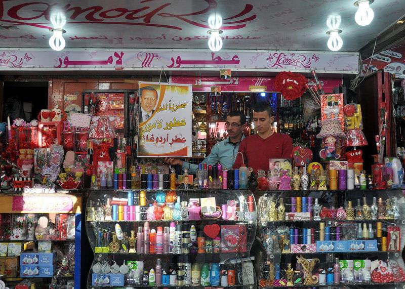 """Gazze'de """"Erdoğan"""" parfümü"""