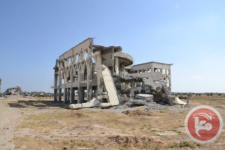 Gazze'de kaderine terk edilen havaalanı