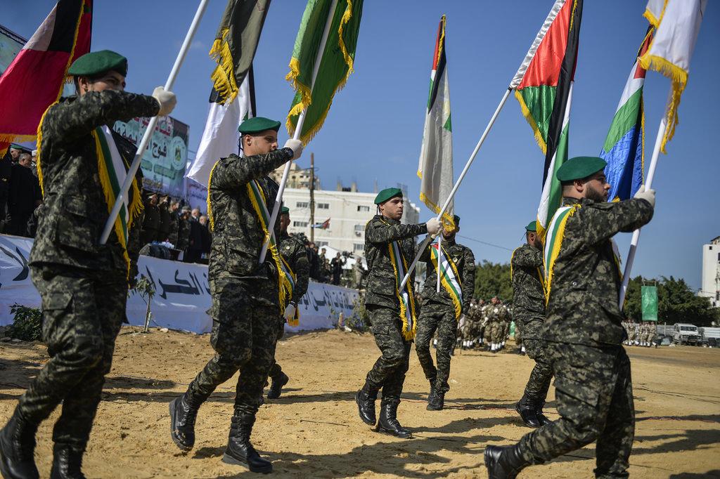 Gazze'de mezuniyet töreni
