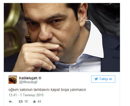 Güldüren Yunanistan capsleri