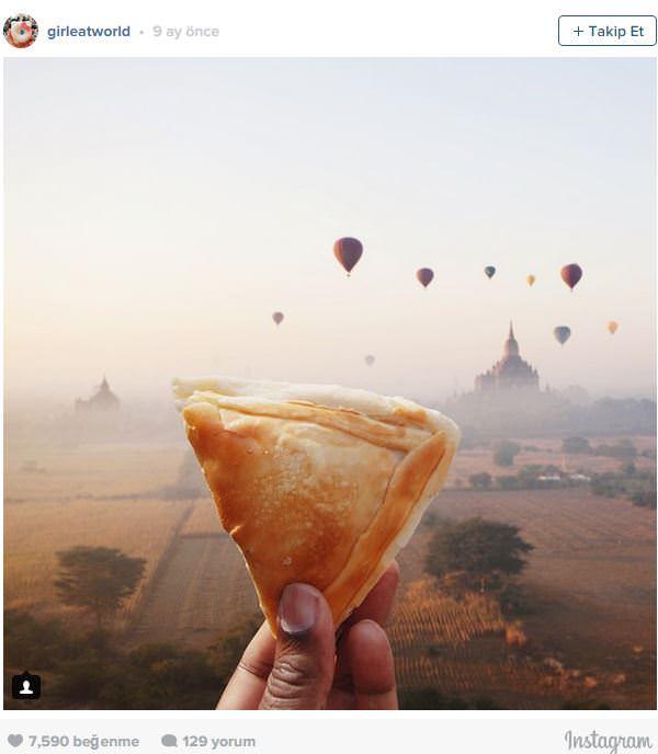Hem Dünyayı Gezen Hem de Gezdiği Yerlerdeki Eşsiz Yemekleri Tadan Kadın