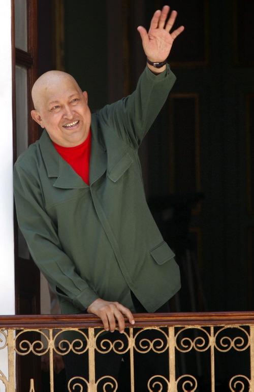 Hugo Chavez'in görülmemiş fotoğrafları