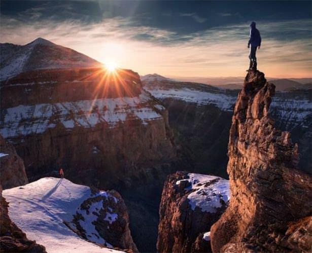 İnsan ve doğanın en güzel fotoğrafları