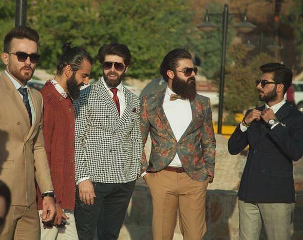 Iraklı gençler 'hipster' denmesinden rahatsız