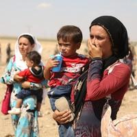 I��D'den ka�an Suriyeliler T�rkiye'ye b�yle s���nd�