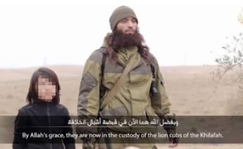 IŞİD'in videosunda kan donduran detay