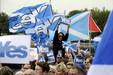 İskoçyadaki bağımsızlık ünlüleri de böldü