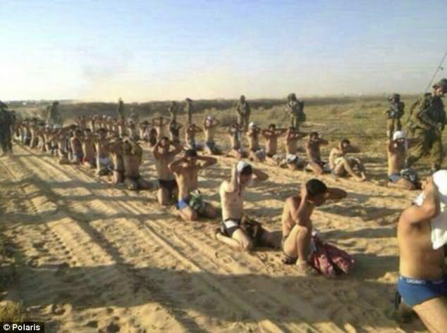 İsrail'de skandal  işkence fotoğrafları