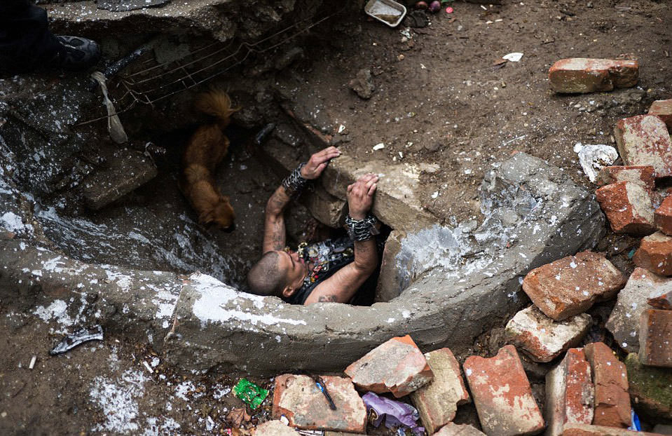 Kanalizasyonda yaşayanlar