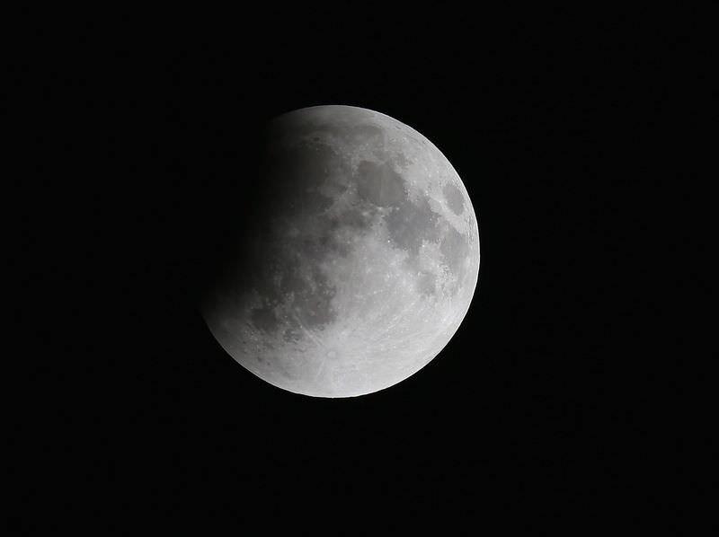 Kanlı Ay Tutulması gerçekleşti
