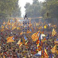 Katalonya i�in ba��ms�zl�k sesleri