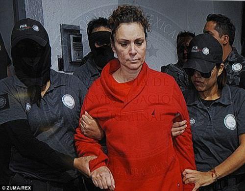 'Katil first lady' tutuklandı
