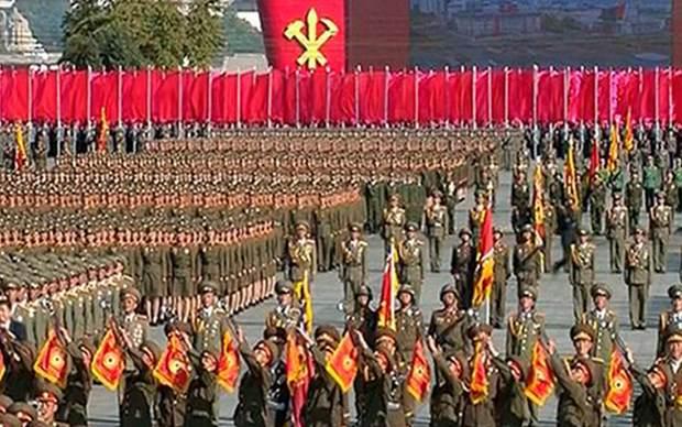 Kuzey Kore'deki geçit törenine dünya liderleri katılmadı