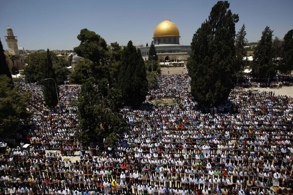 Mescid-i Aksa'da Ramazan'ın ilk cuması