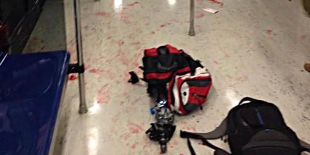 Metroda katliam yaptı!