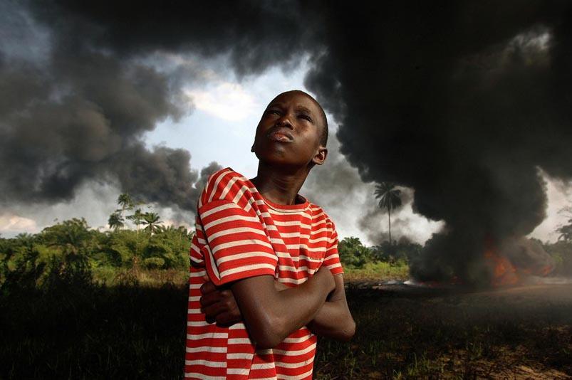 Nijerya'dan insan manzaraları