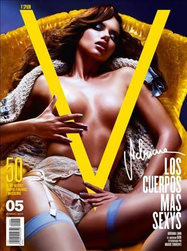 Секс - тема нового номера.  Адриана Лима.  Фотограф.  Velvet.