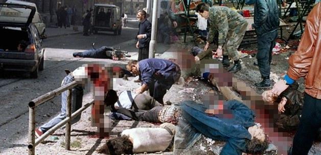 """""""Pazar yeri"""" katliamının 21. yıldönümü"""