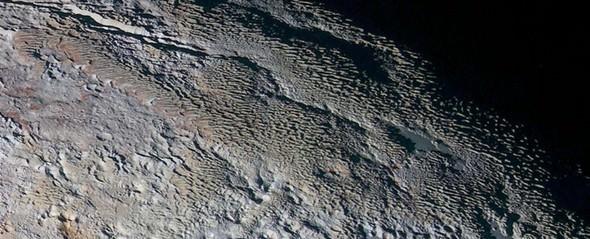 Plüton'da bilim adamlarını şaşırtan görüntü