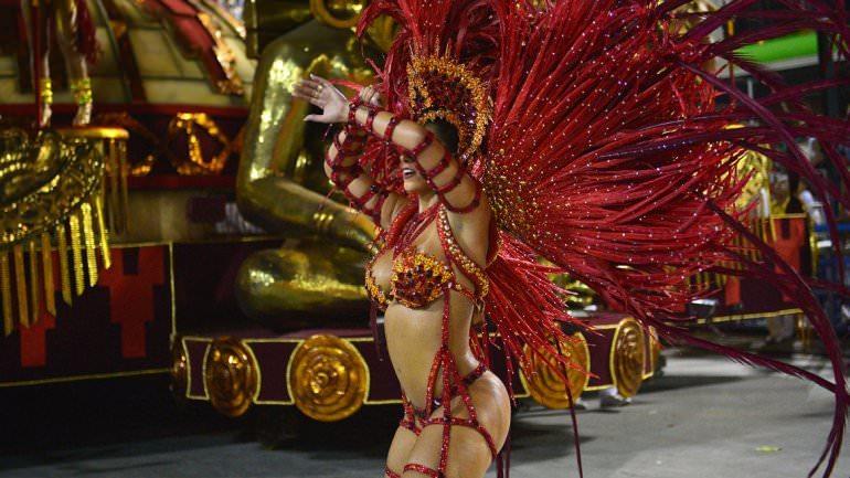 Rio Karnavalı'ndan müthiş kareler