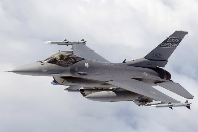 Savaş uçağı F-16'nın özellikleri!