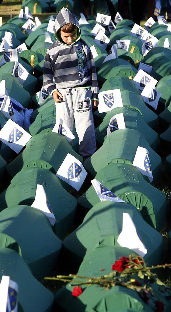 Srebrenitsa soykırımının 20. yılı