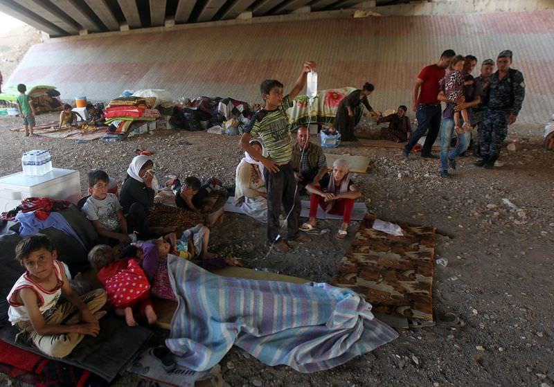 Yezidilerin ölüm yürüyüşü