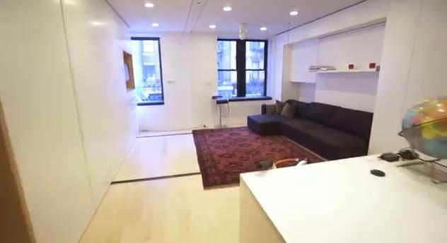 38 m2'ye 5 oda 1 salon sığdırmak