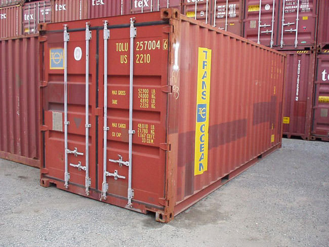 Boş konteynerler değerlendi