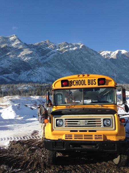Otobüsten karavan yaptılar