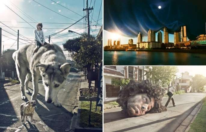 18 Muhteşem photoshop manipulasyonu
