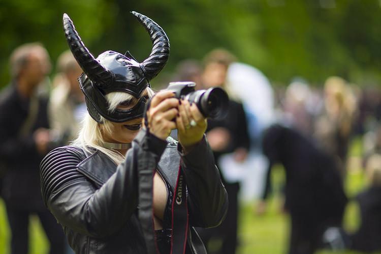 """Almanya'da düzenlenen """"Gotik Festivali""""nden renkli kareler"""
