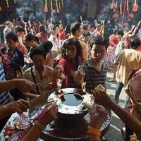 Asya ülkeleri, yeni yıl coşkusu yaşıyor