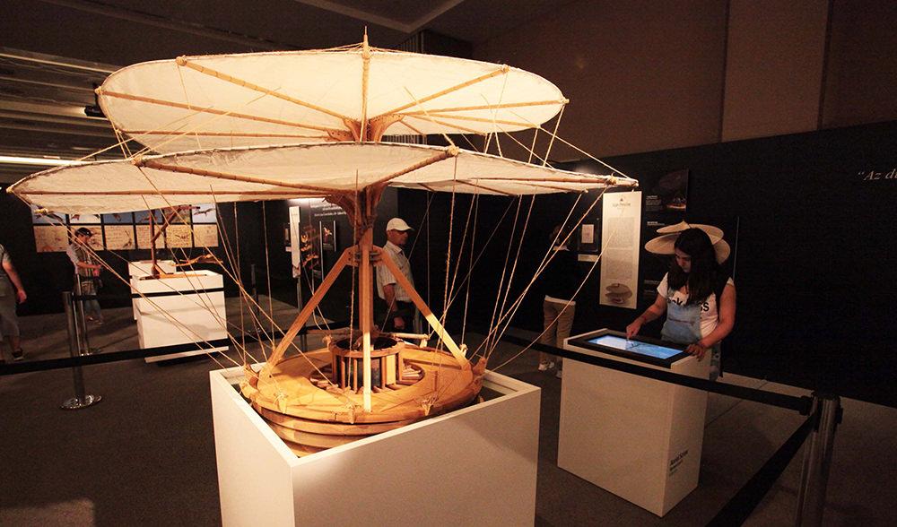 Da Vinci'nin makineleri EXPO 2016'da sergileniyor