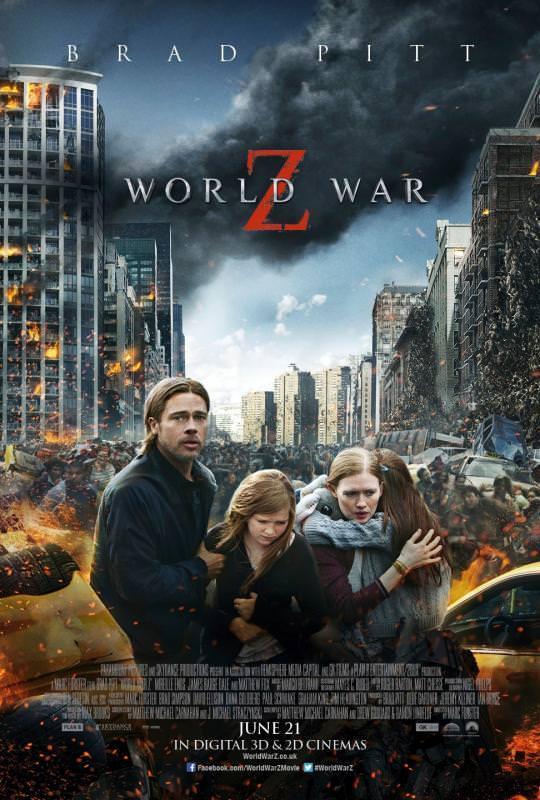 Dünya Savaşı Z filminden kareler