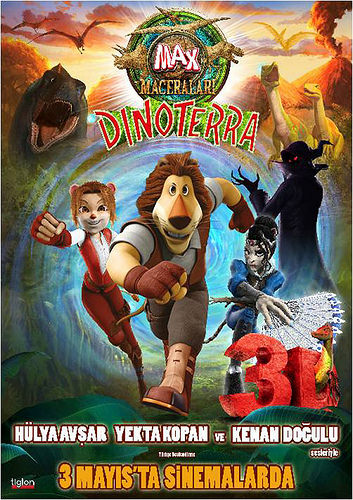 Max Maceraları 3: Dinoterra filminden kareler