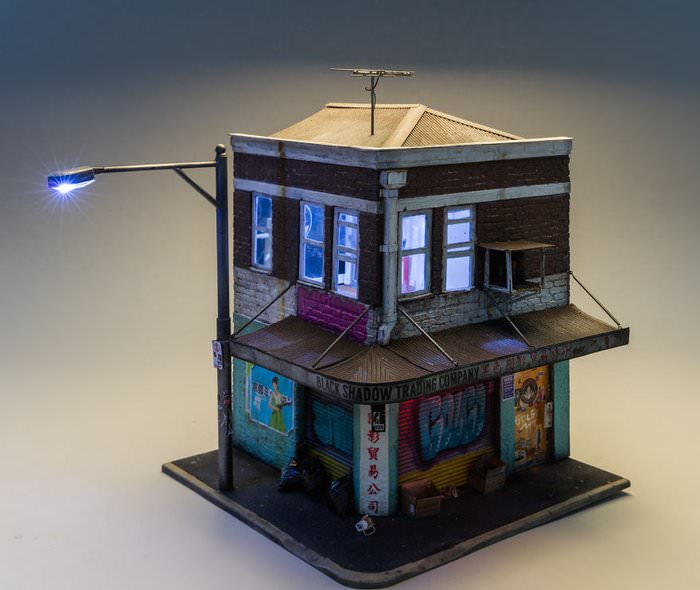 Minyatür evler görenleri hayrete düşürüyor!