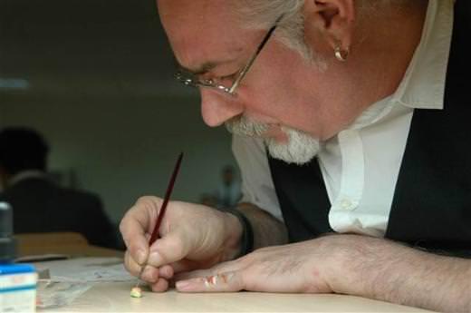 Minyatür sanatçısı Hasan Kale'nin çizimleri